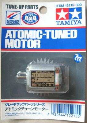 ITEM 15215 TAMIYA MINI 4WD ACCESSORI ATOMIC TUNED MOTOR