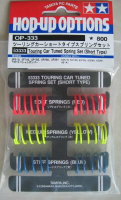 Tamiya 53333 Touring Car Tuned Spring Set
